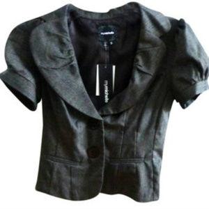 My Michelle Grey Jacket/Blazer - Juniors Sz S NWT